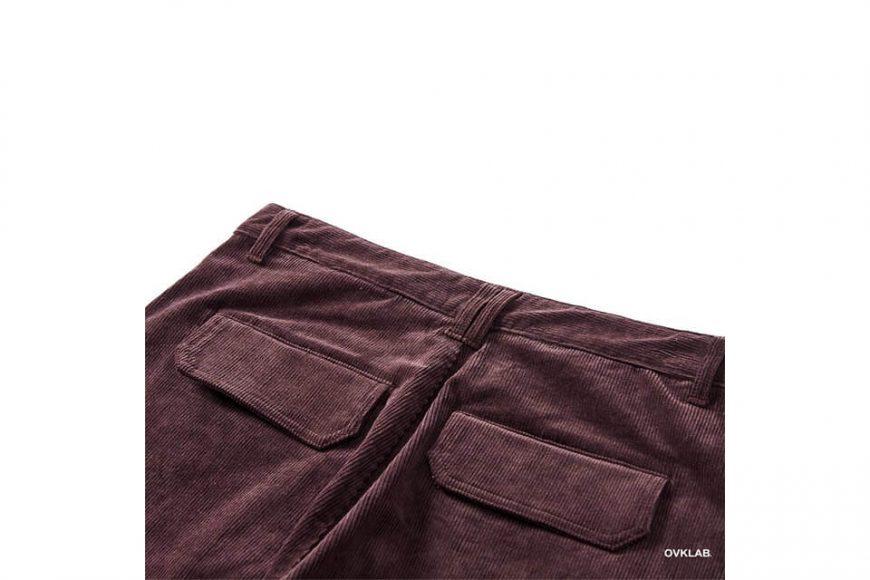 OVKLAB 123(三)發售 18 AW Coduroy Wide Pants (10)