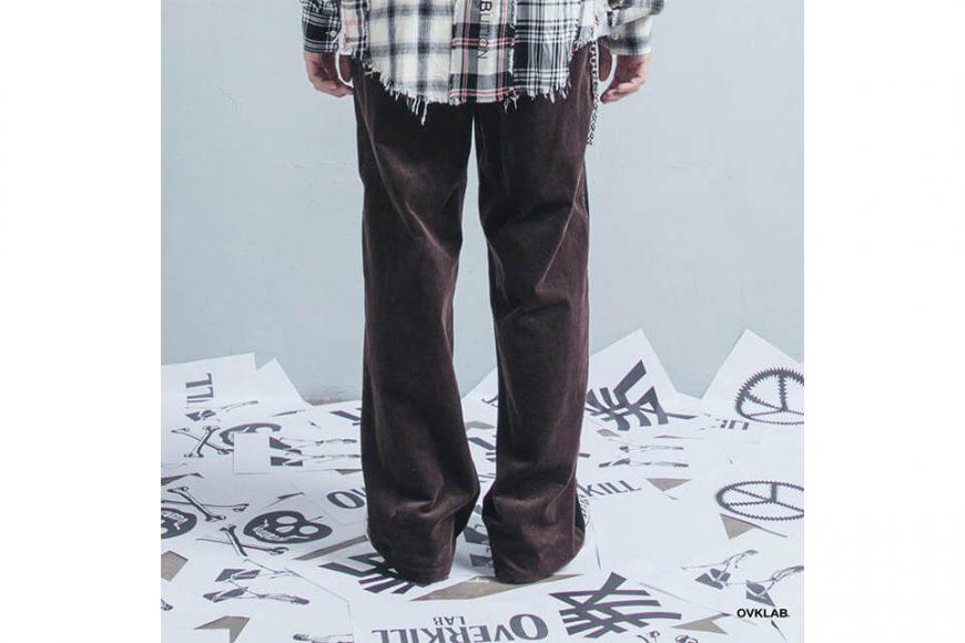 OVKLAB 123(三)發售 18 AW Coduroy Wide Pants (5)