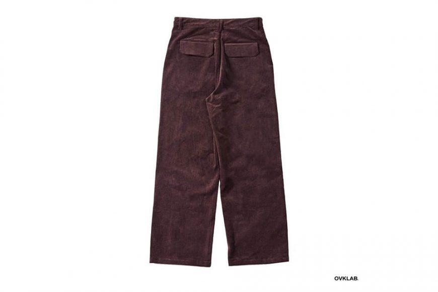 OVKLAB 123(三)發售 18 AW Coduroy Wide Pants (7)