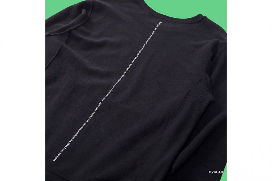 OVKLAB 19(三)發售 18 AW Open Your Box Sweatshirt (14)
