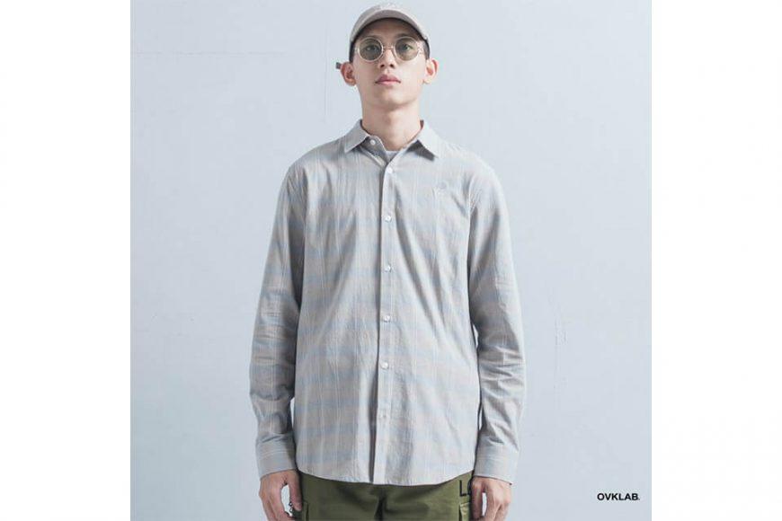 OVKLAB 19(三)發售 18 AW Plaid LS Shirt (1)