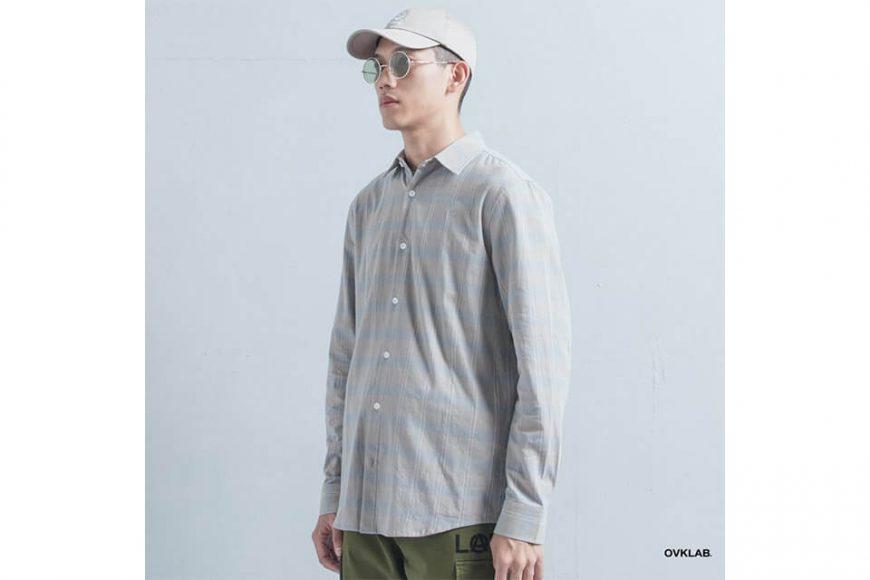 OVKLAB 19(三)發售 18 AW Plaid LS Shirt (2)