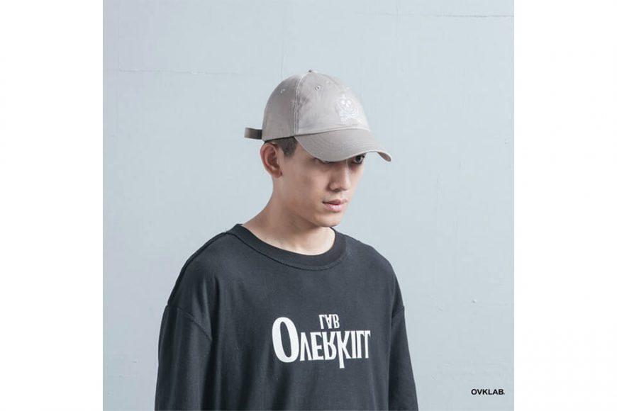 OVKLAB 19(三)發售 18 AW Washed Baseball Cap (4)