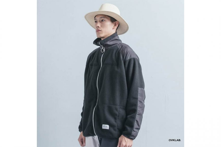 OVKLAB 21(五)發售 18 AW Military Fleece Jacket (3)