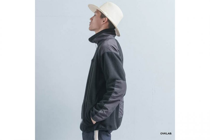 OVKLAB 21(五)發售 18 AW Military Fleece Jacket (4)