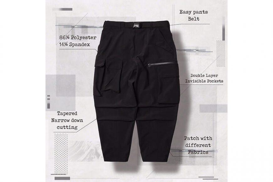 AES 27(四)初三發售 18 AW Aes x Goopi Irregular Militray Pants (4)