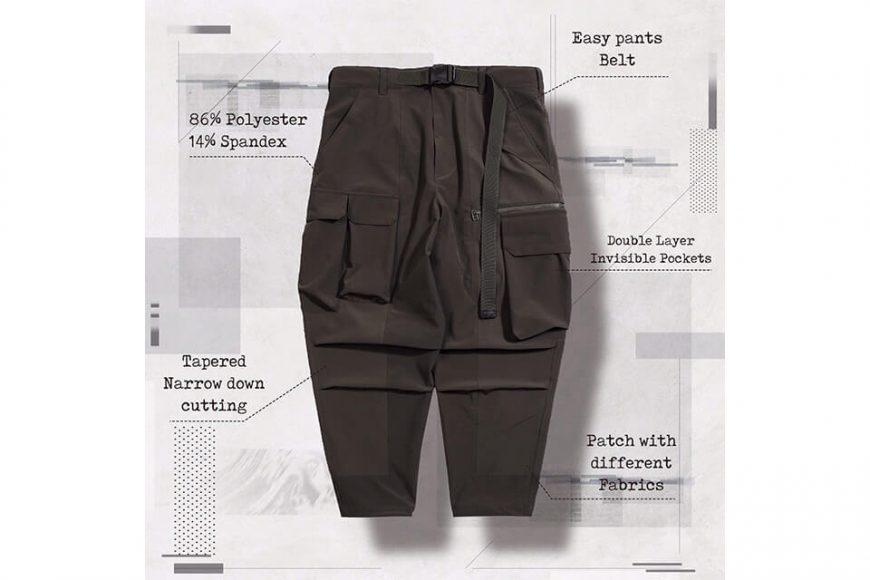 AES 27(四)初三發售 18 AW Aes x Goopi Irregular Militray Pants (6)