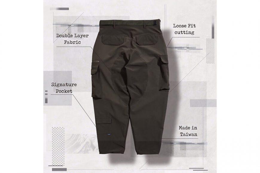 AES 27(四)初三發售 18 AW Aes x Goopi Irregular Militray Pants (7)