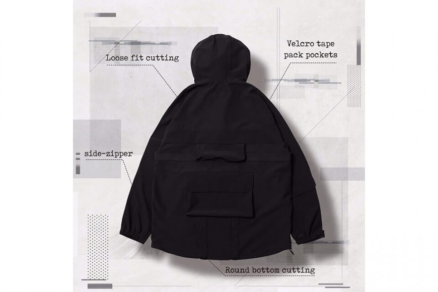 AES 27(四)初三發售 18 AW Aes x Goopi Magnetic Anorak Jacket (4)