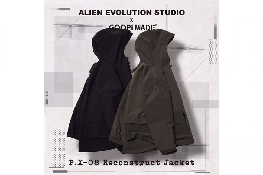 AES 27(四)初三發售 18 AW Aes x Goopi Reconstruct Jacket (3)