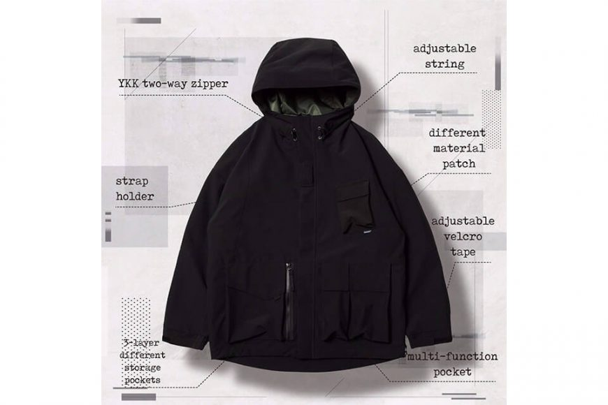 AES 27(四)初三發售 18 AW Aes x Goopi Reconstruct Jacket (4)