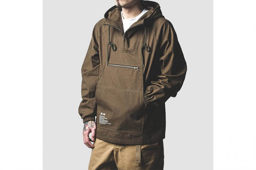 B-SIDE 213(三)發售 18 AW BS 219 Pullover JKT (4)