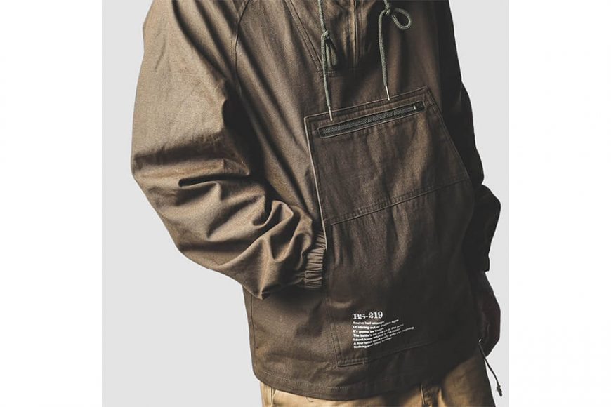 B-SIDE 213(三)發售 18 AW BS 219 Pullover JKT (6)