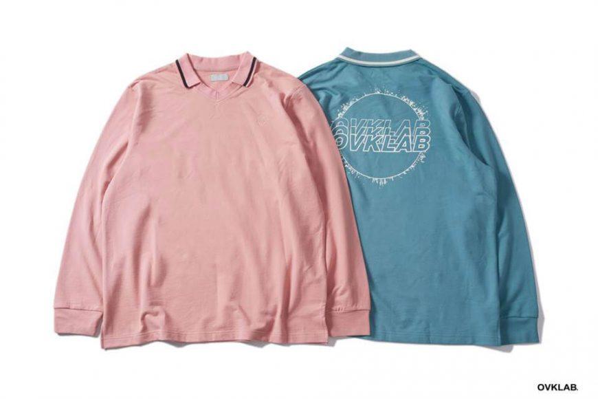 OVKLAB 19 SS V Neck Polo Shirt (1)