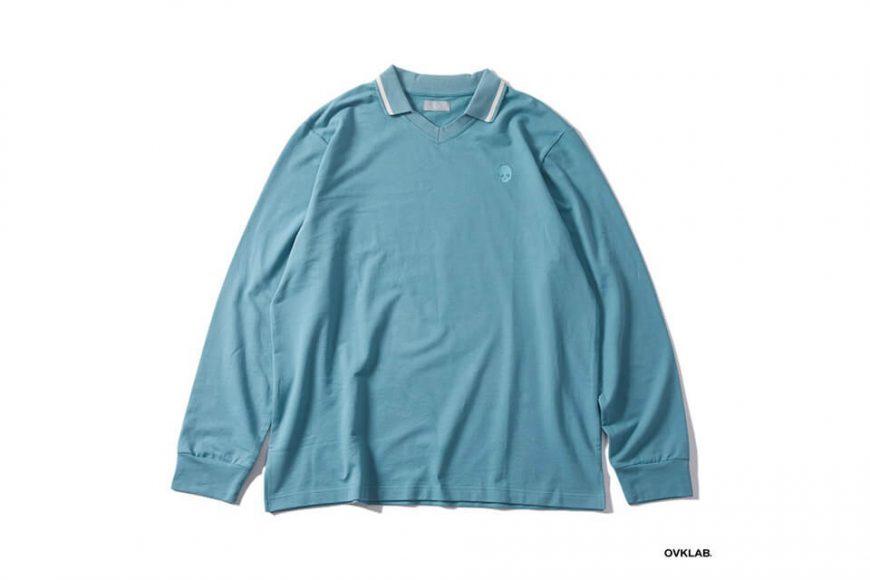 OVKLAB 19 SS V Neck Polo Shirt (2)