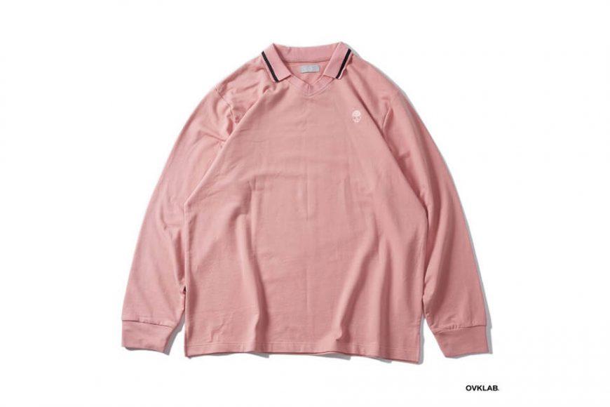 OVKLAB 19 SS V Neck Polo Shirt (7)