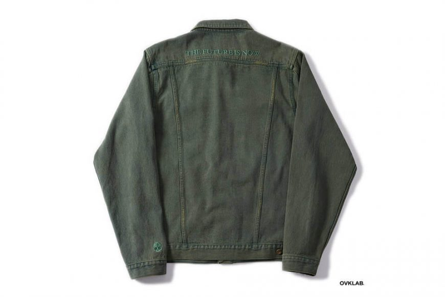 OVKLAB 320(三)發售 19 SS Washed Denim Jacket (2)