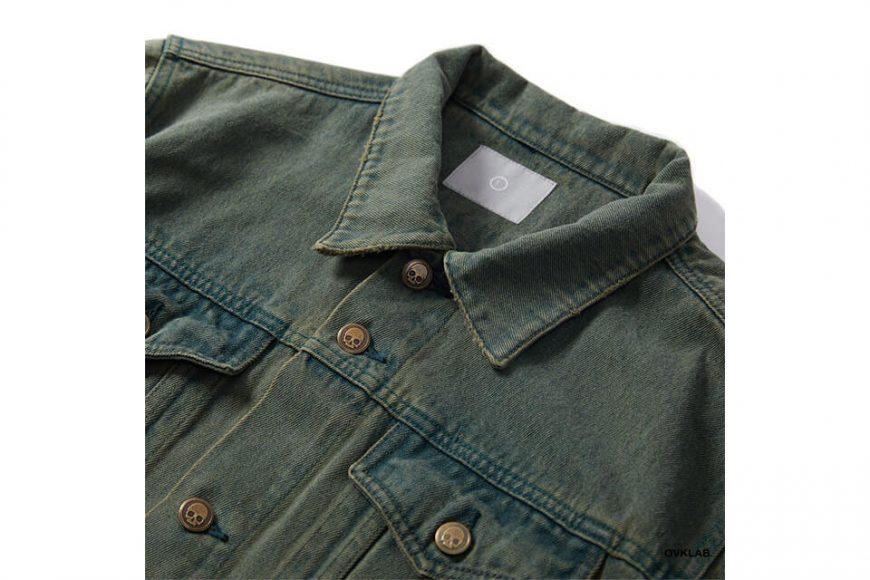 OVKLAB 320(三)發售 19 SS Washed Denim Jacket (3)