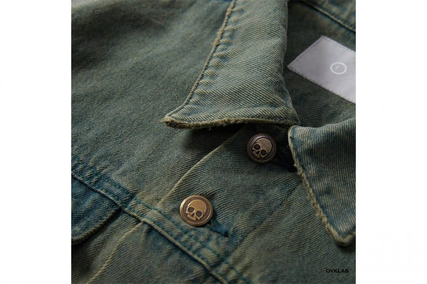 OVKLAB 320(三)發售 19 SS Washed Denim Jacket (4)