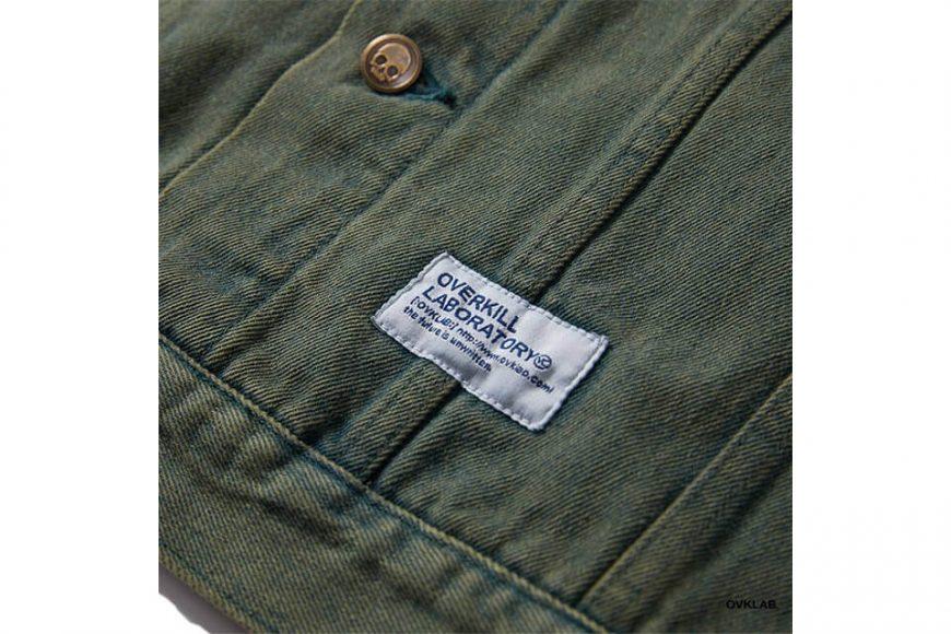 OVKLAB 320(三)發售 19 SS Washed Denim Jacket (6)