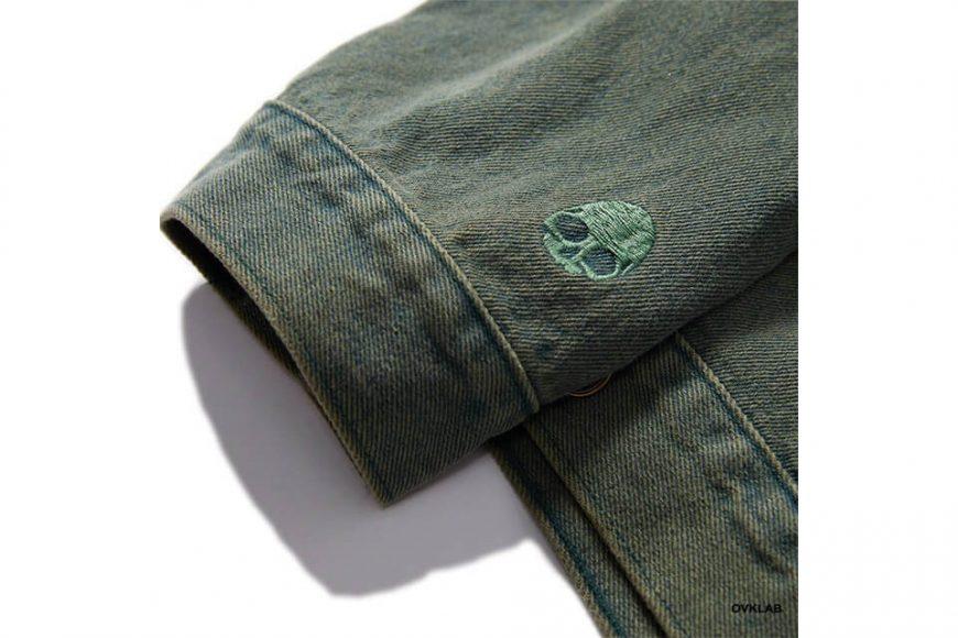 OVKLAB 320(三)發售 19 SS Washed Denim Jacket (7)