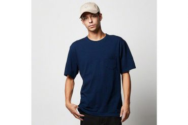 United Athle 3991-01 5.3oz 丹寧風T恤 (附口袋) (2)