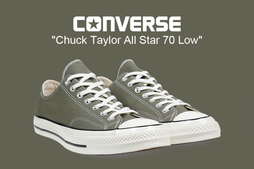 CONVERSE 19 FW 162060C Chuck Taylor All Star '70 Low (1)