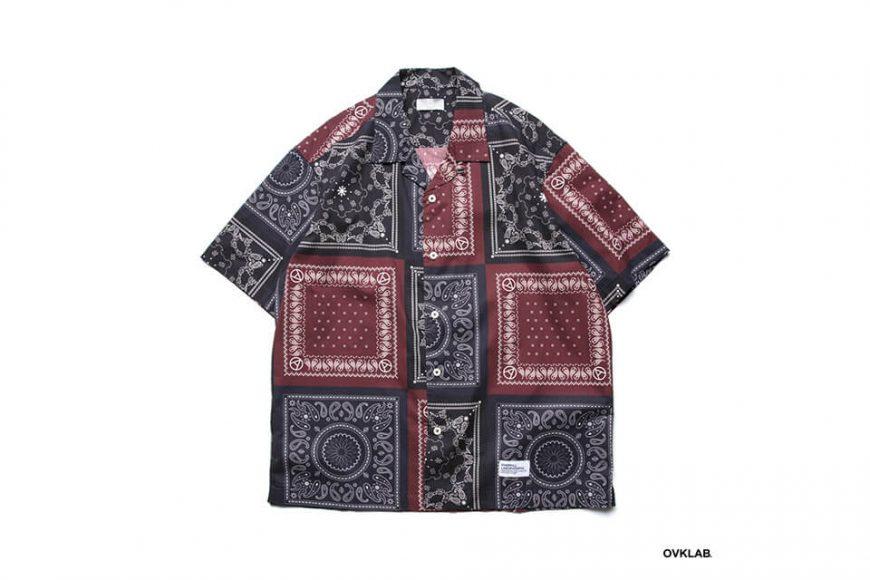 OVKLAB 19 SS Paisley Pattern Shirt (3)