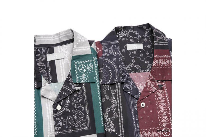 OVKLAB 19 SS Paisley Pattern Shirt (4)