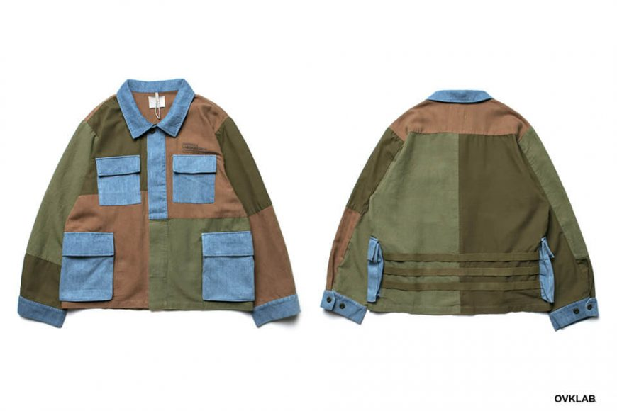OVKLAB 19 SS Patchwork Military Jacket (1)