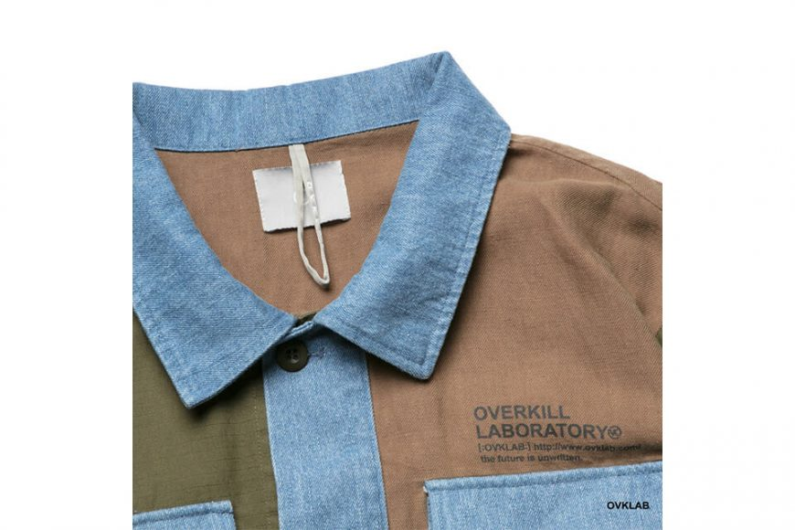 OVKLAB 19 SS Patchwork Military Jacket (2)