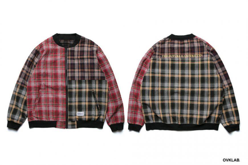 OVKLAB 19 SS Sided Wear Patch Check Jacket (1)