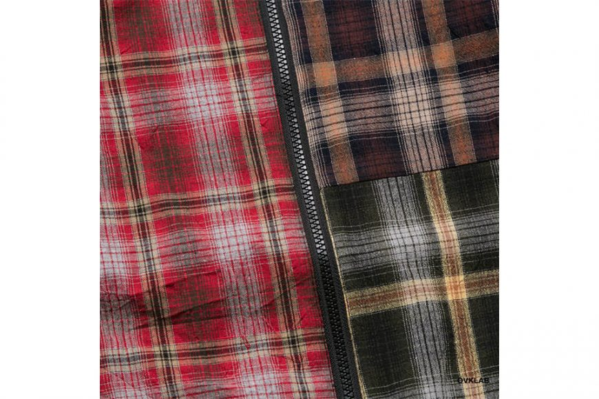 OVKLAB 19 SS Sided Wear Patch Check Jacket (9)
