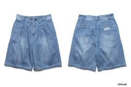 OVKLAB 19 SS Washed Denim Shorts (1)