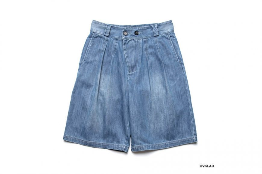 OVKLAB 19 SS Washed Denim Shorts (2)