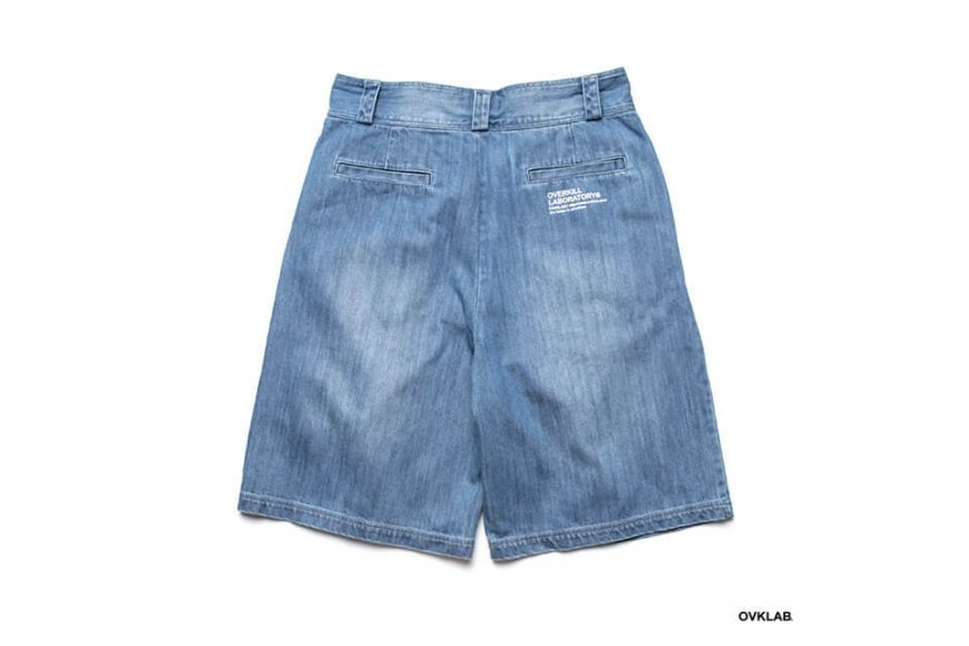 OVKLAB 19 SS Washed Denim Shorts (3)