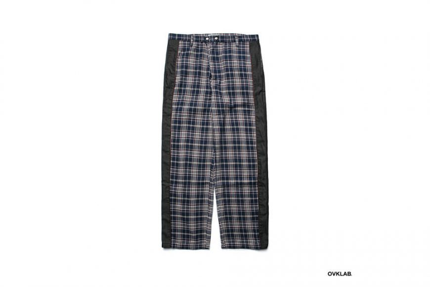 OVKLAB 19 SS Wide Check Pants (2)
