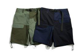 TMCAZ Patchwork Cargo Shorts (1)