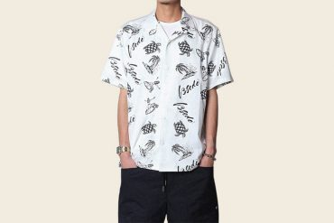 B-SIDE 19 SS Sunset Beach Aloha Shirt (3)