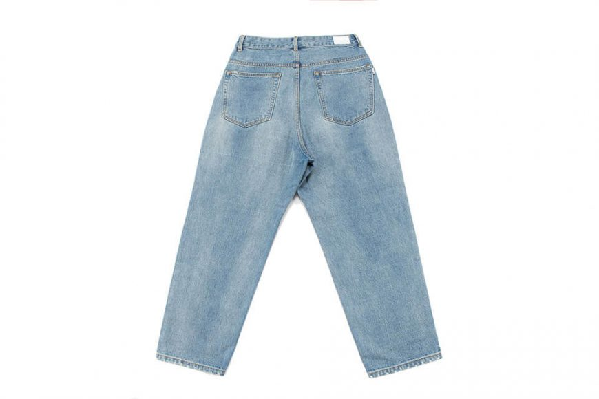 NextMobRiot 511(六)發售 19 SS Washed Denim Over Jeans (10)