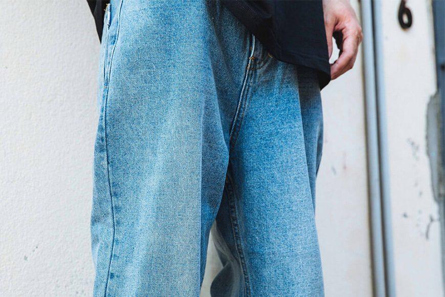 NextMobRiot 511(六)發售 19 SS Washed Denim Over Jeans (5)