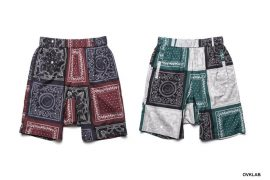 OVKLAB 19 SS Paisley Pattern Wide Shorts (1)