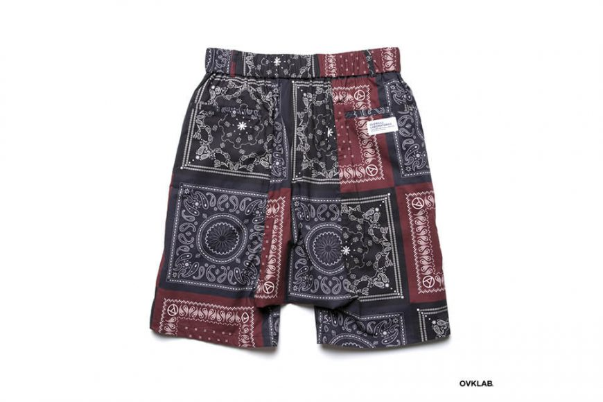 OVKLAB 19 SS Paisley Pattern Wide Shorts (5)