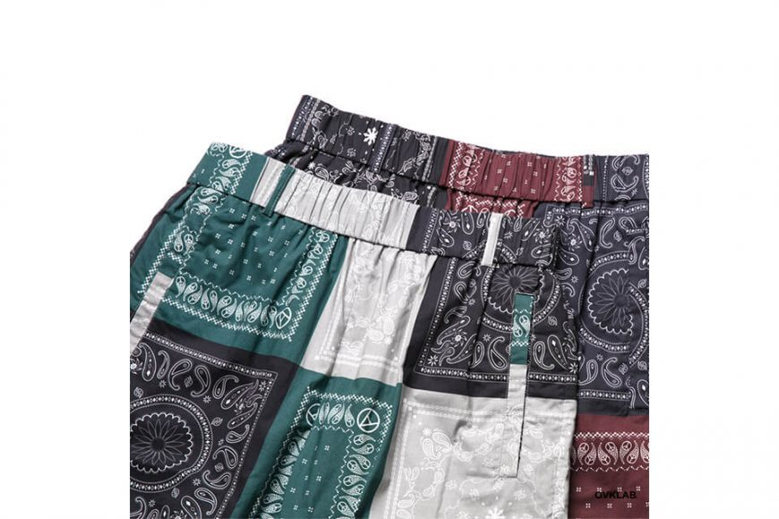 OVKLAB 19 SS Paisley Pattern Wide Shorts (8)