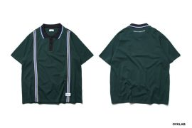 OVKLAB 19 SS Striped Jacquard Polo Shirt (1)
