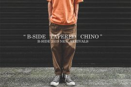 B-SIDE 19 SS Tapered Chino (1)