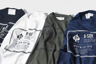 B-SIDE 19 SS Box Ace Widecut Tee (1)