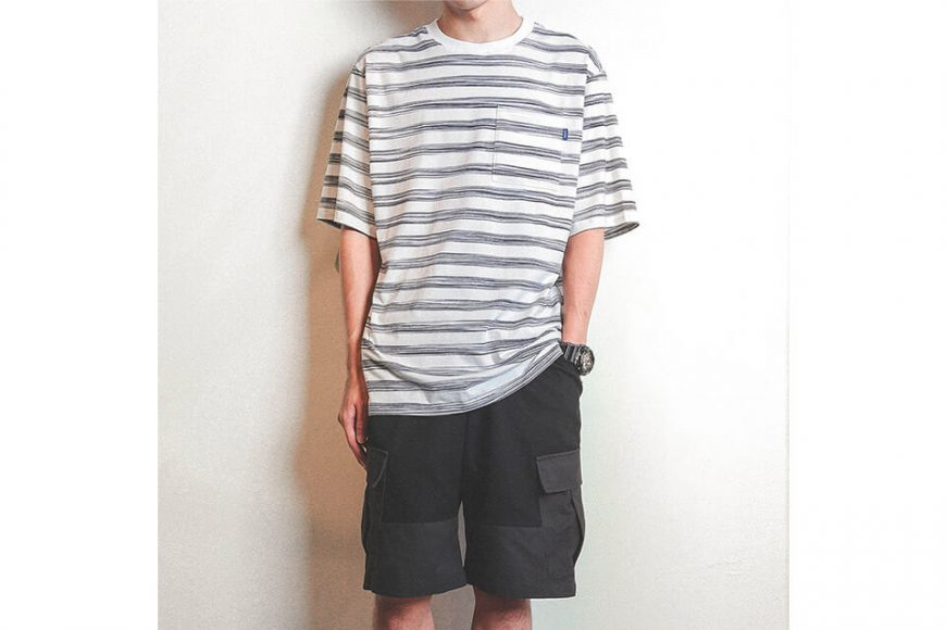 B-SIDE 19 SS Bruch Line Pocket Tee (3)