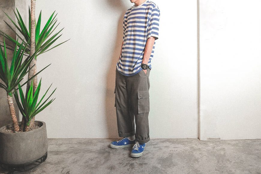 B-SIDE 19 SS Bruch Line Pocket Tee (5)