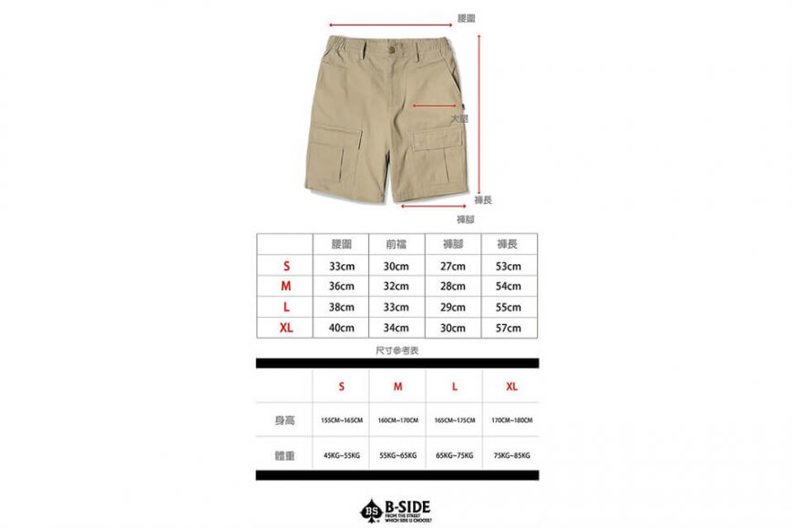 B-SIDE 19 SS Front Pocket Shorts (11)